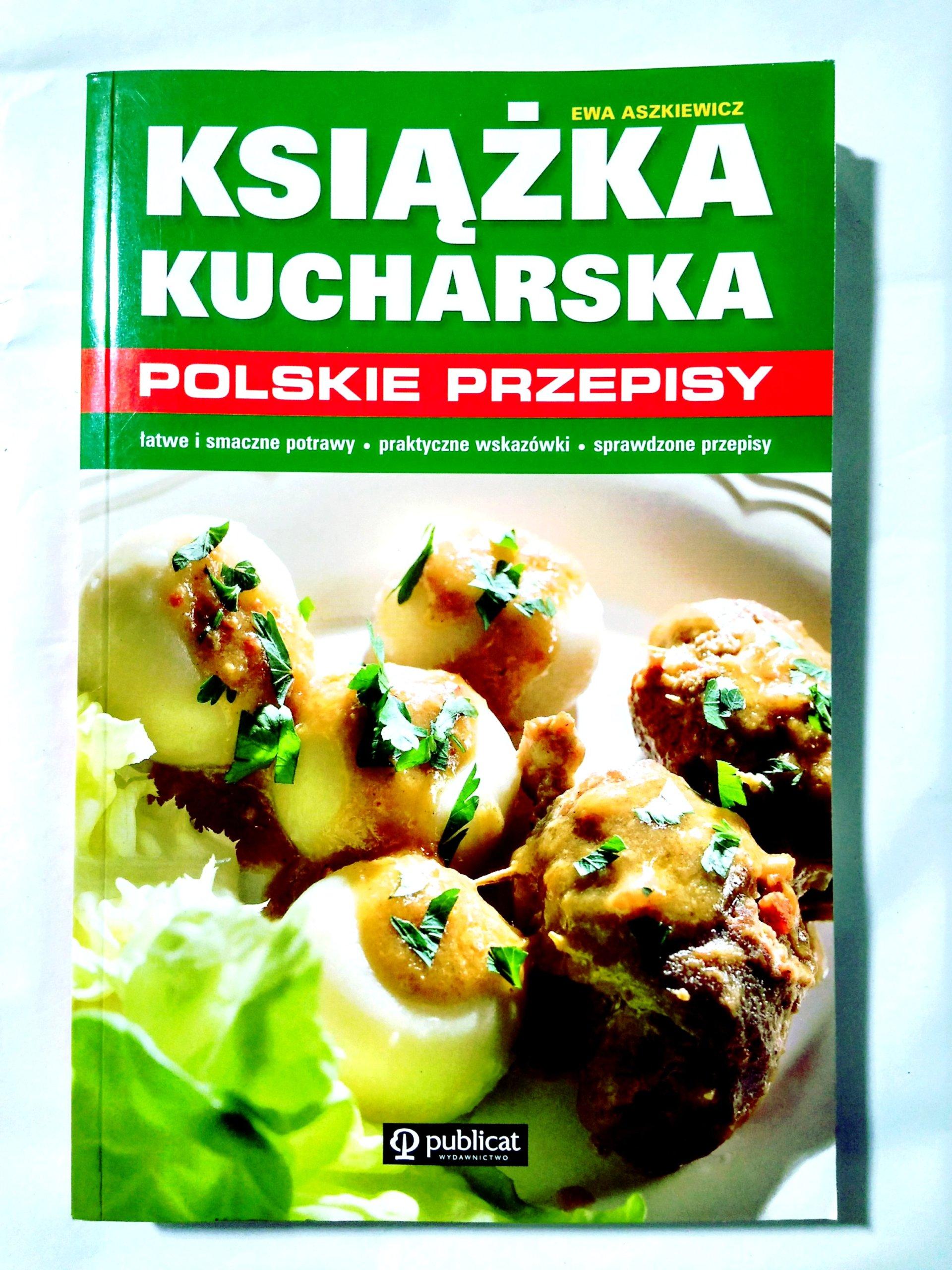 Ewa Aszkiewicz Książka Kucharska Polskie Przepisy