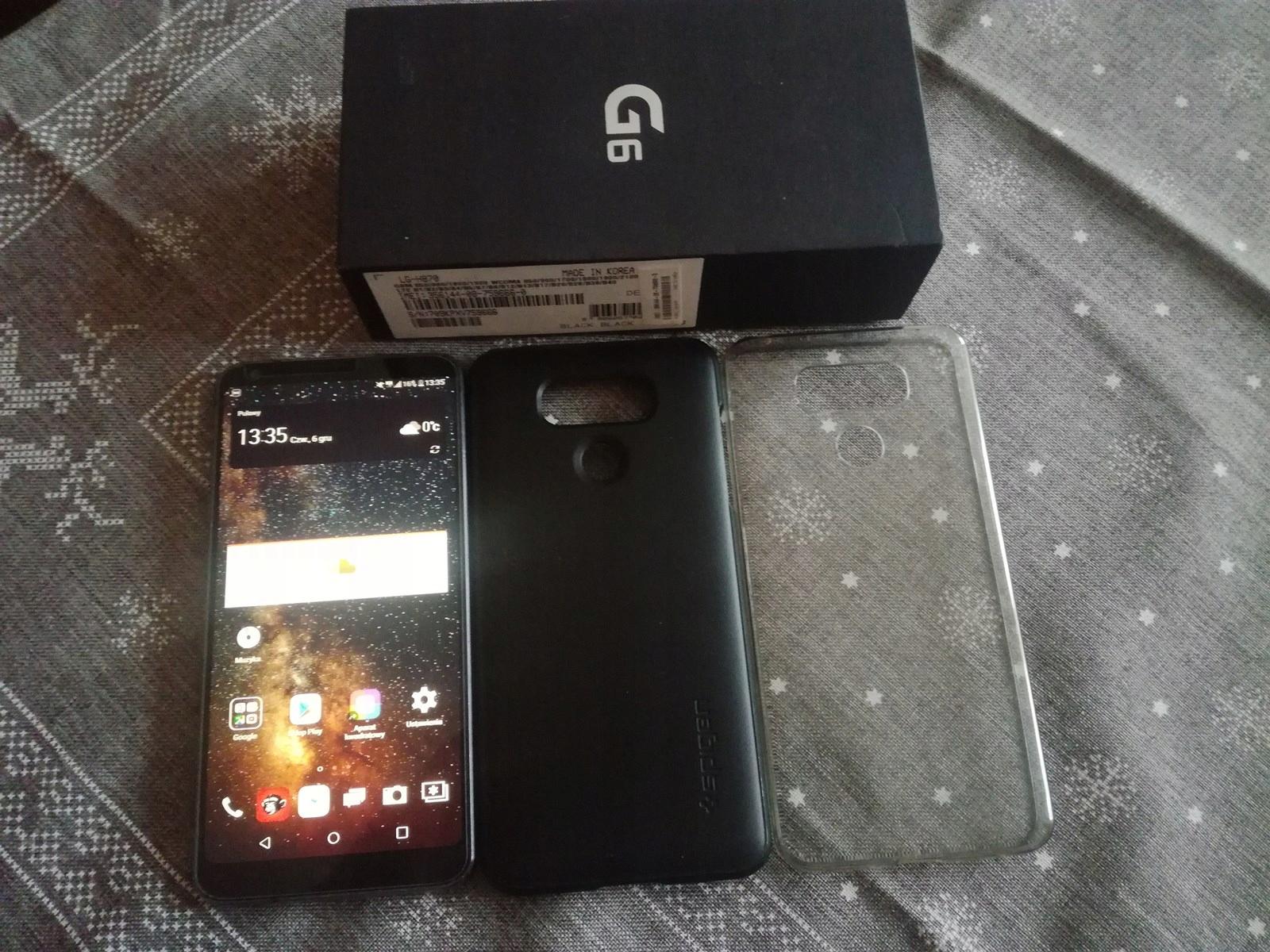 LG G6 32 gb czarny od 1 zł bcm sprawdź!
