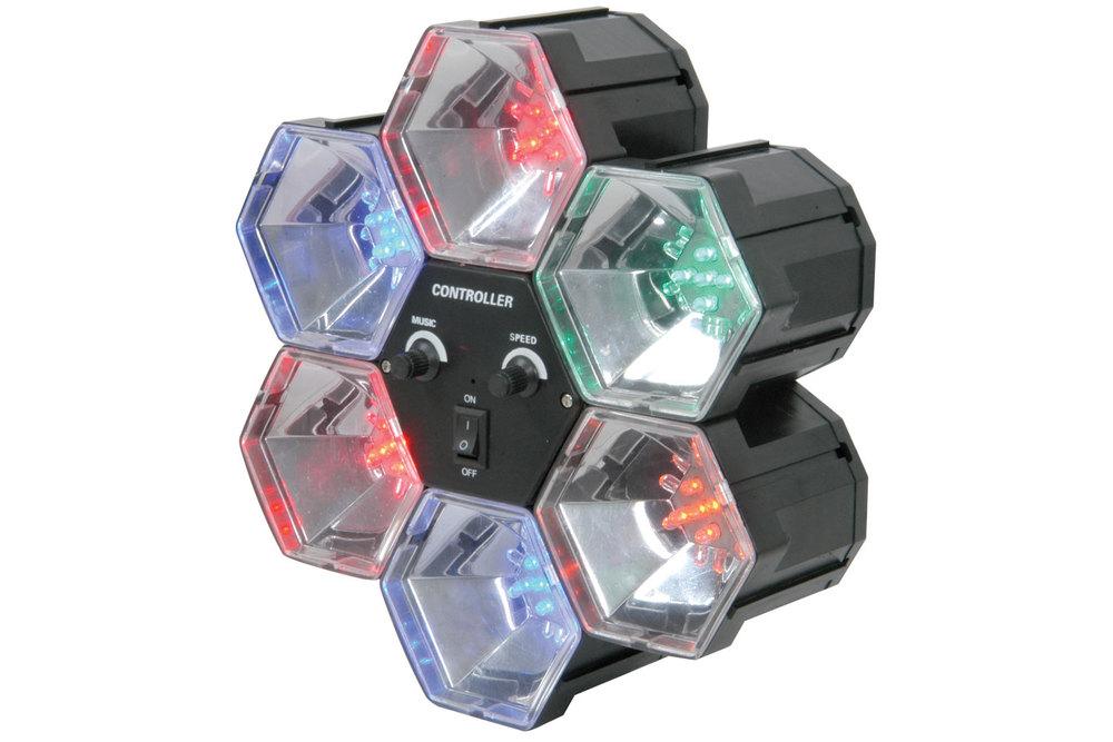 Światła imprezowe QTX PL6 Party Light LED OKAZJA!
