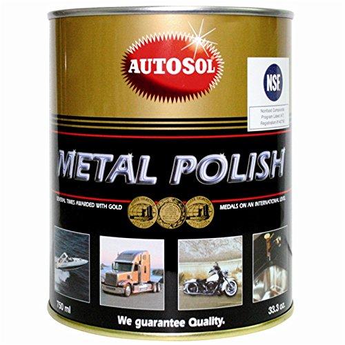 AUTOSOL METAL POLISH CHROM MIEDŹ ALUMINIUM 750ml