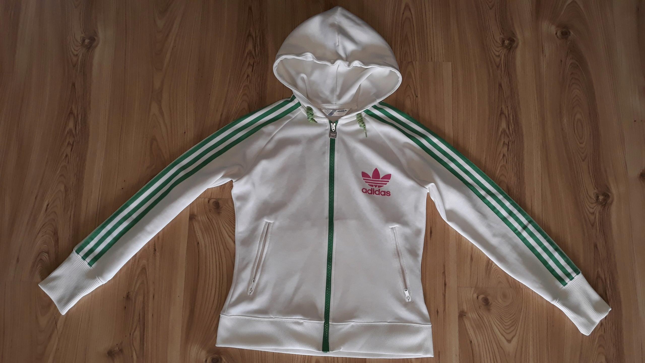 a45710a70 Bluza Adidas S/M originals oldschool damska j.nowa - 7498268569 ...