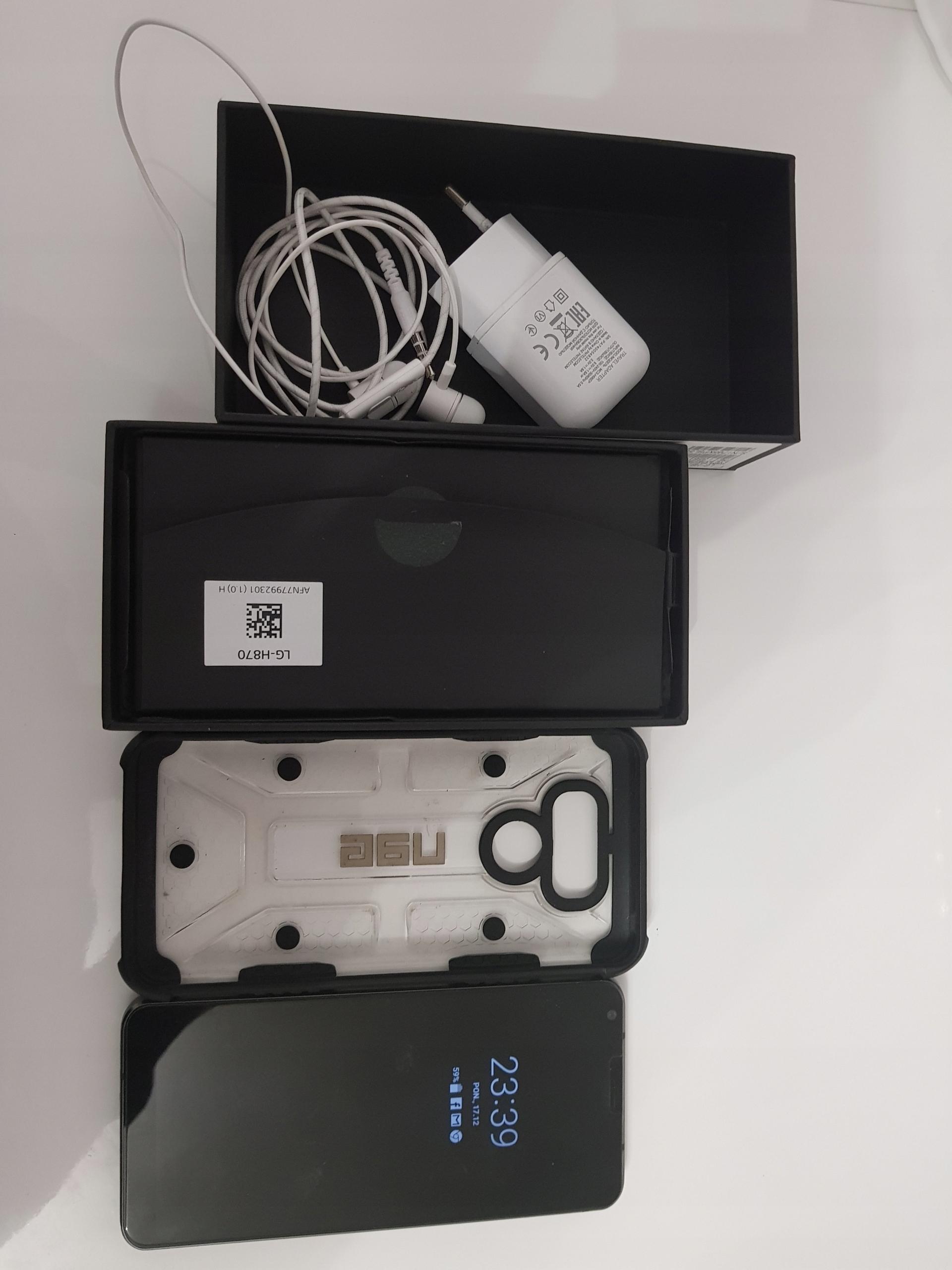 LG G6 H870 CZARNY Z GWARANCJA + ETUI UAG