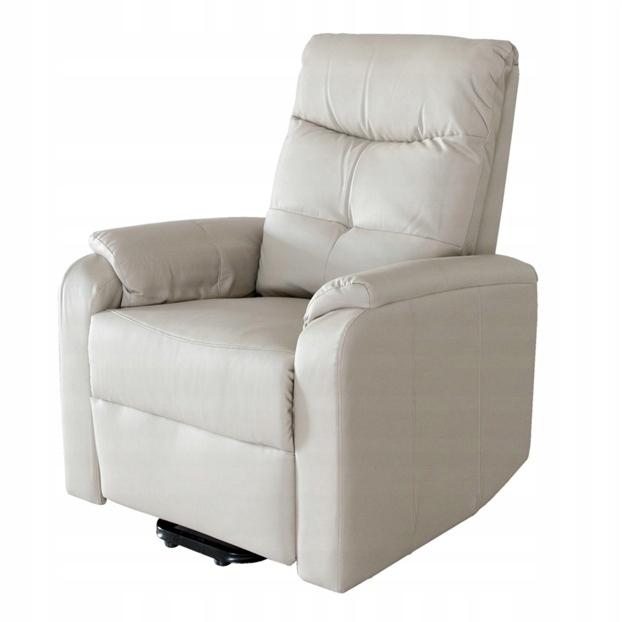 Tuoni Fotel Rozkładany Wygodny Beżowy 40115
