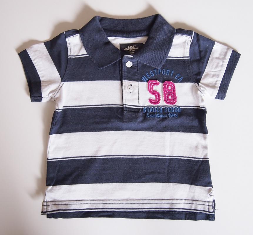 c97da12412 Polo koszulka H M 68 4-6M - 7281968152 - oficjalne archiwum allegro