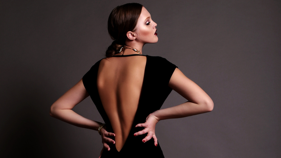 Wieczorowa Suknia Z Odkrytymi Plecami Allegro Pl
