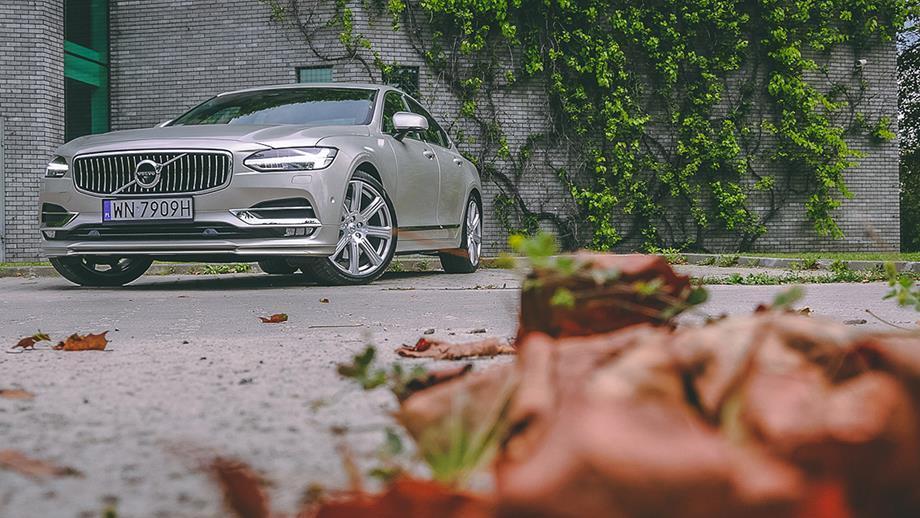 Volvo S90 – test samochodu