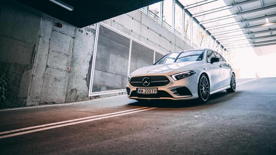 Mercedes klasy A – test samochodu