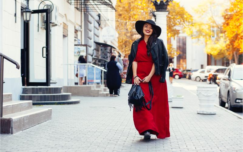 Eleganckie sukienki plus size na jesień