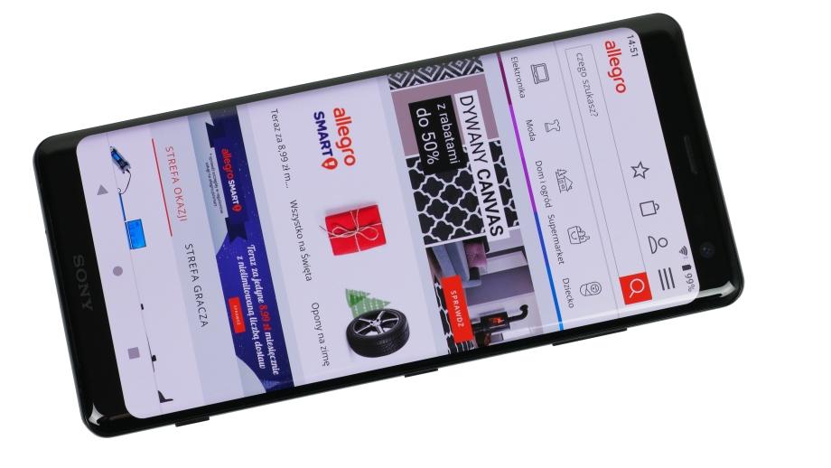 Test smartfona Sony Xperia XZ3 – oryginalny flagowiec