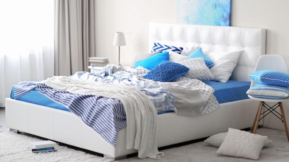 Dekoracje Do Sypialni Dla Osób Które Uwielbiają Kolor Niebieski
