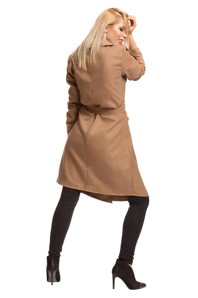 Płaszcz ONLY onlNEW PHOEBE COAT CC OTW 15118815 camel, ciemny beżowy L