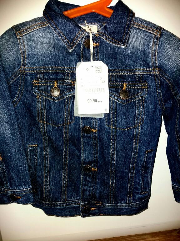 katana kurtka jeansowa Zara 104 wiosna