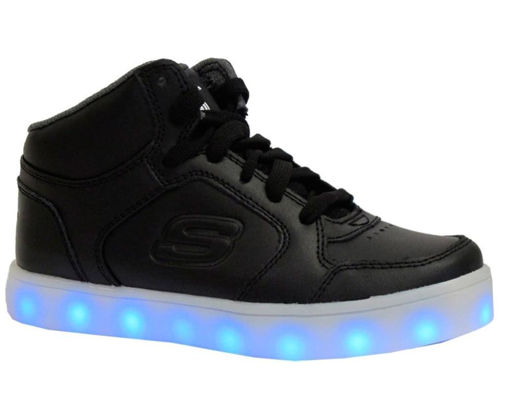 Świecące Buty Dziecięce Skechers 90600LBLK r.39,5