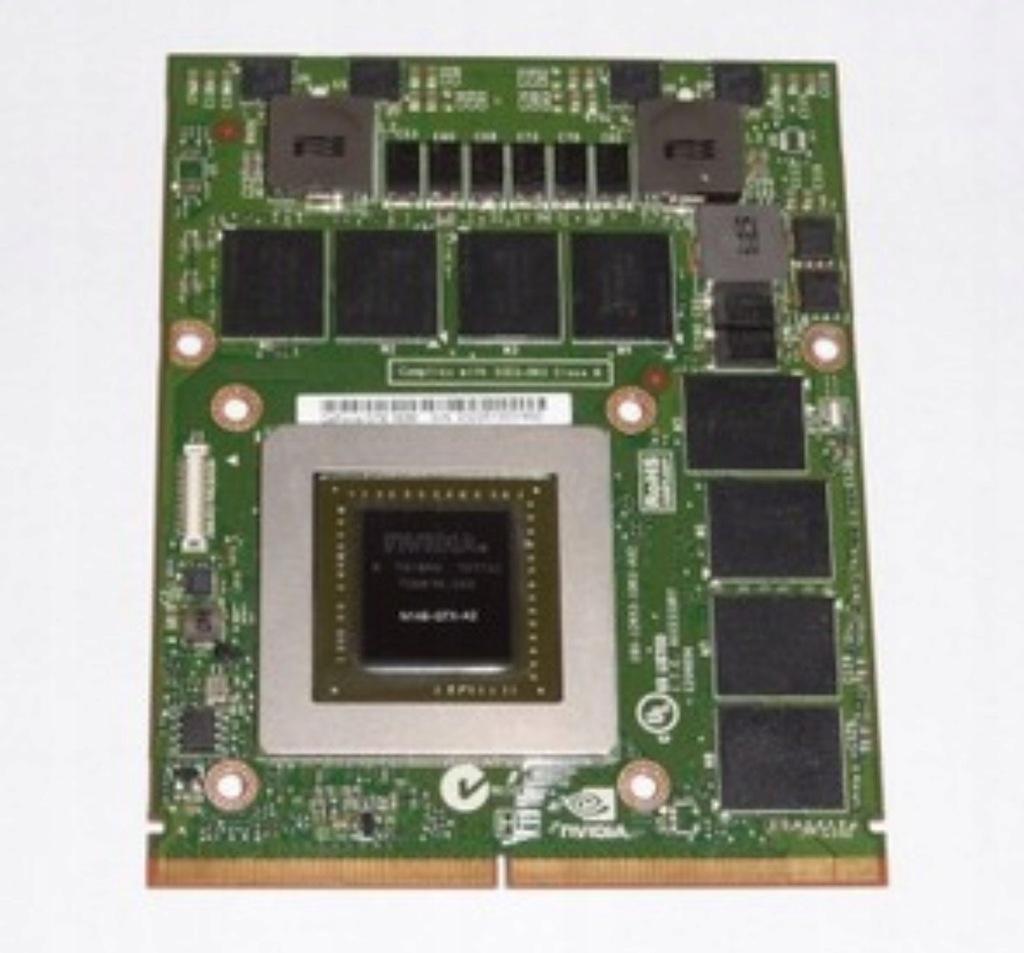 Karta Graficzna Nvidia Geforce Gtx 780m 4gb Gddr5 7791785580 Oficjalne Archiwum Allegro