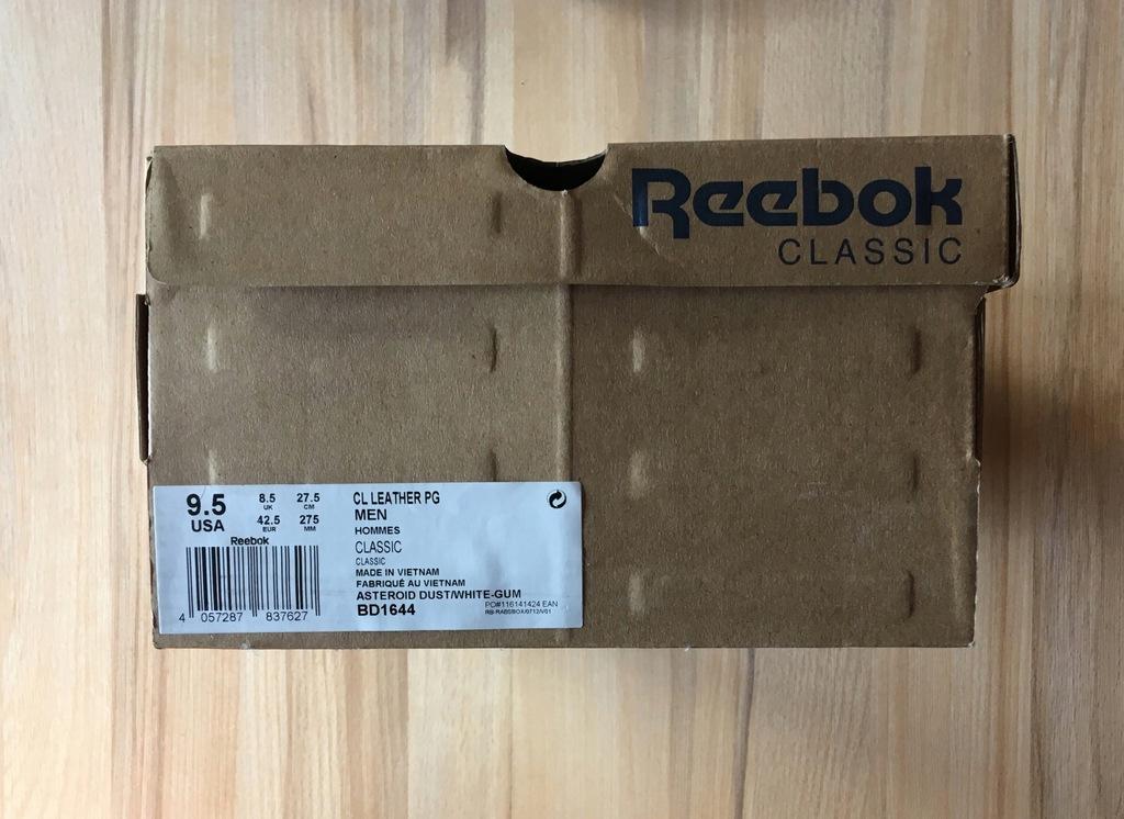 BUTY REEBOK CLASSIC LEATHER PG BD1644 skóra r 42,5