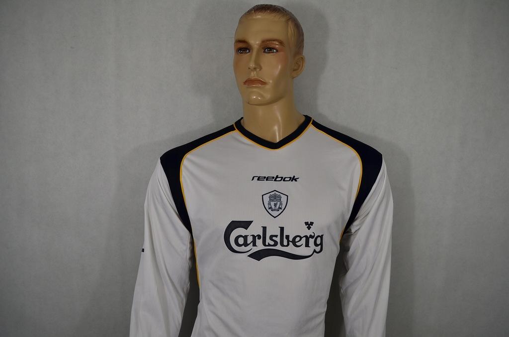 REEBOK FC LIVERPOOL KOSZULKA BADGE 2001/02 *XL*
