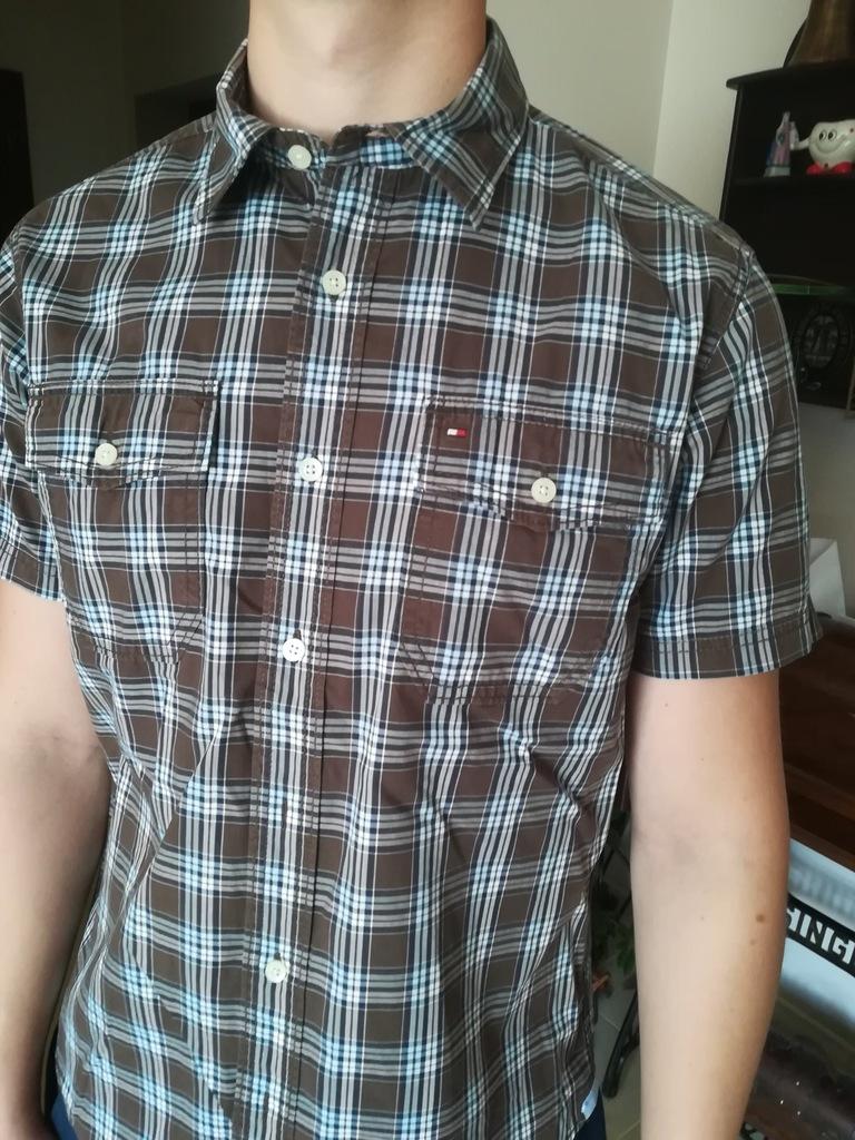 Tommy Hilfiger koszula krata M/L