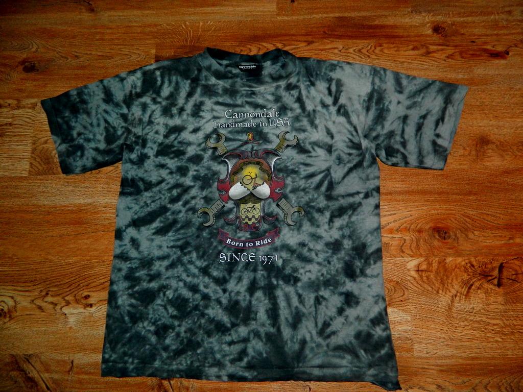 Koszulka Cannondale Hand Made USA RETRO Unikat xxl