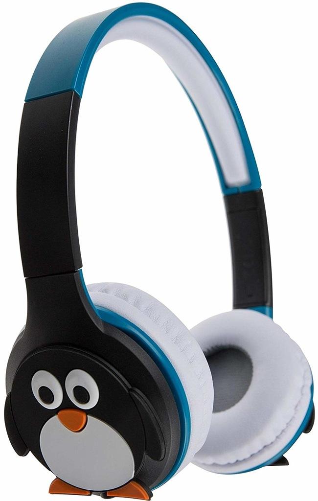 Słuchawki Bluetooth PINGWIN nauszne dla dzieci