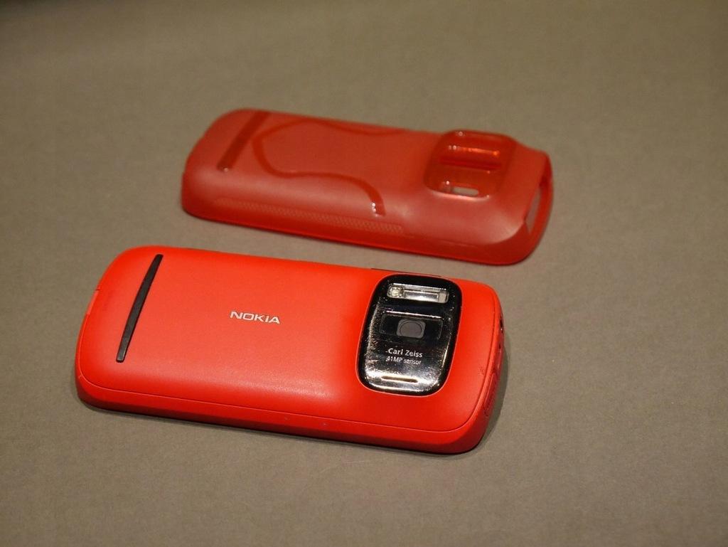 Nokia 808 Pure View Carl Zeiss Optyka Czerwon 7462348415 Oficjalne Archiwum Allegro