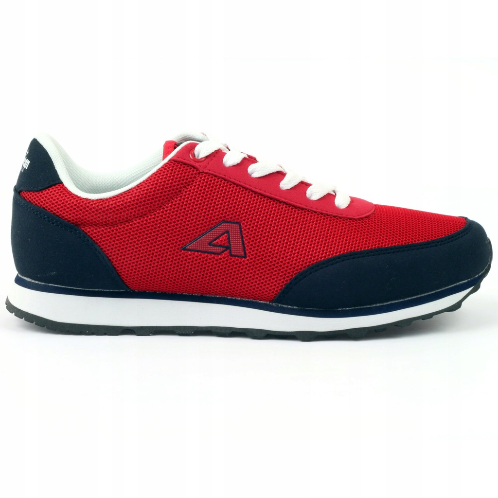 Buty sportowe wiązane American czerwone r.36