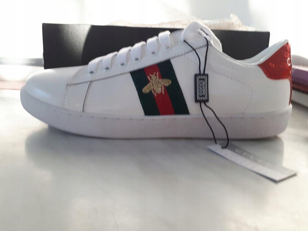 Gucci Ace Embroidered Bee Sneaker 7588507873 Oficjalne Archiwum Allegro