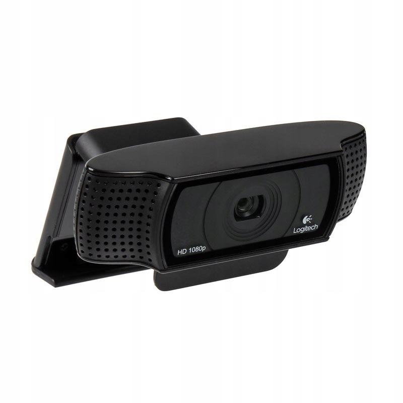 Logitech HD Pro Webcam C920 - czarny
