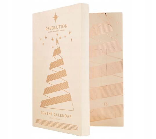 Makeup Revolution Kalendarz Adwentowy Advent 2018 7711916056 Oficjalne Archiwum Allegro