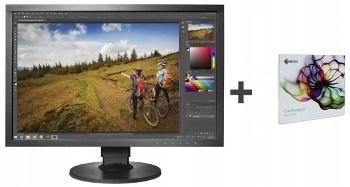 Eizo Monitor LCD 24 CS2420-BK + ColorNavigator
