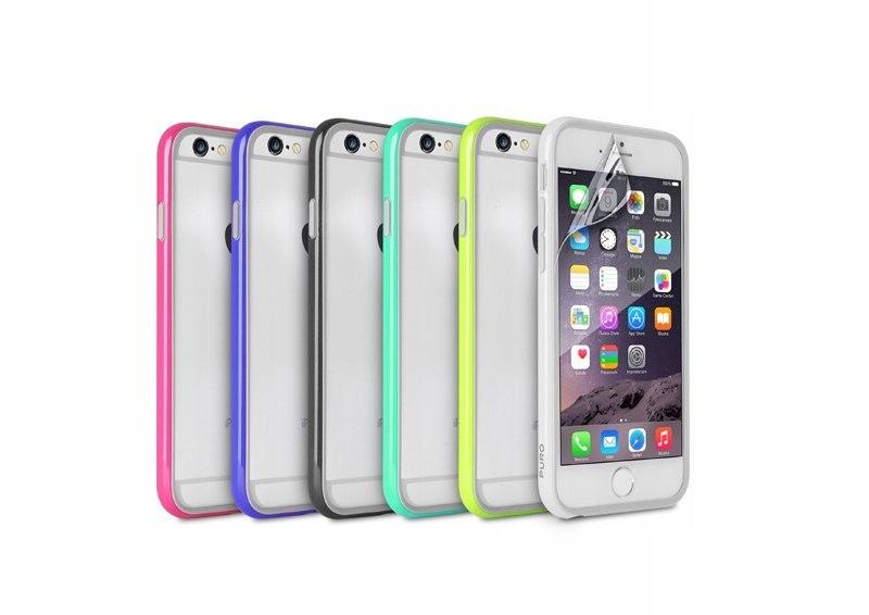 PURO Bumper Cover iPhone 6 4.7 Różowy