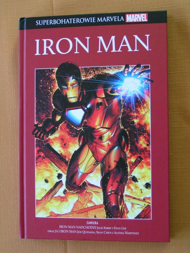 Superbohaterowie Marvela Iron Man
