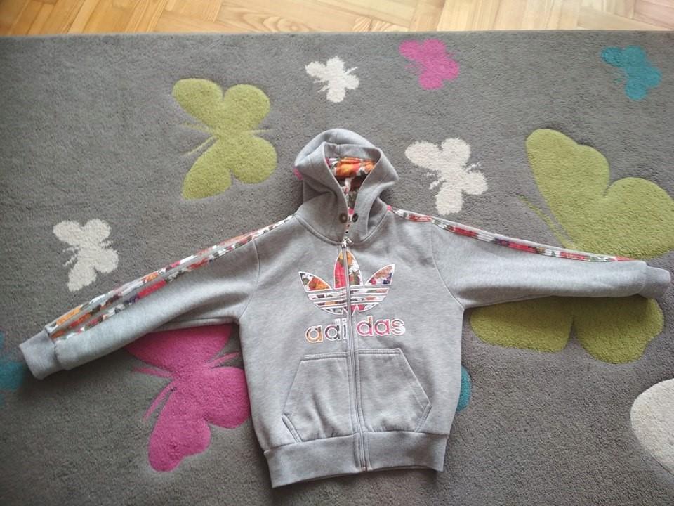 Bluza Adidas dla dziewczynki 140