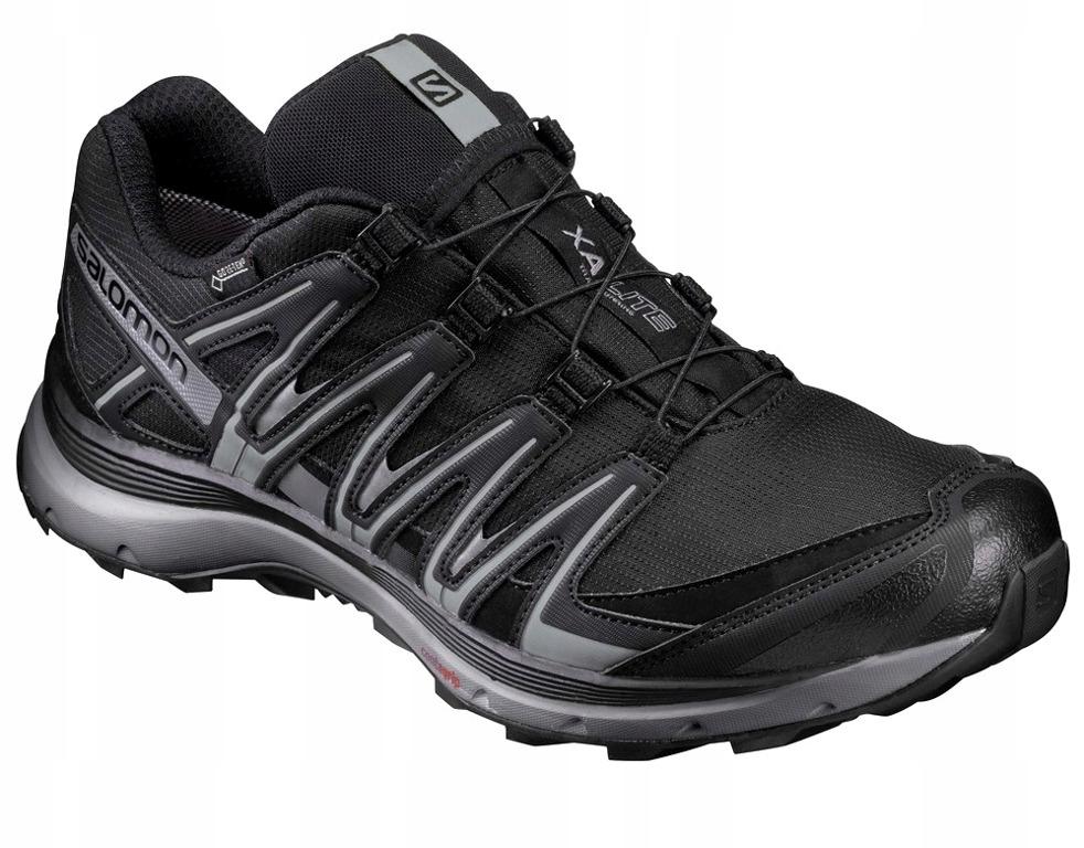 Buy Salomon Xa Lite Gtx Black Running Shoes online | Looksgud.in