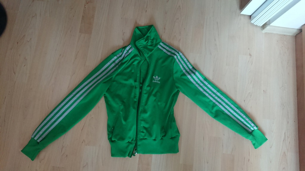 Bluza Adidas Originals zielona Old School 36