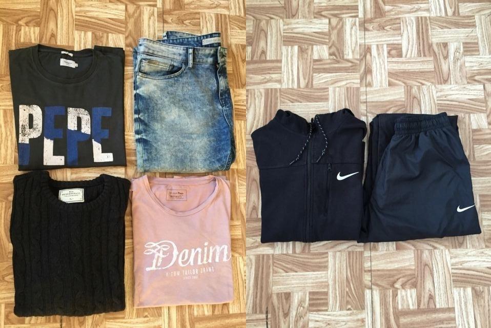 Calvin Klein::Pepe Jeans::Nike 34/L jak nowe