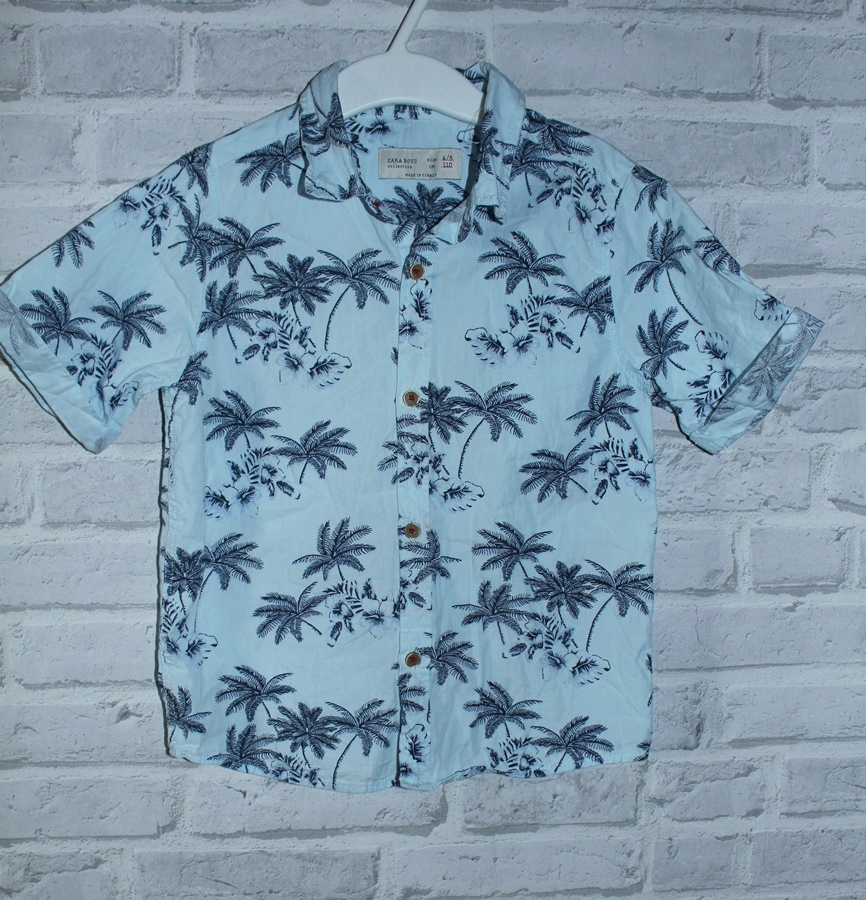 koszula hawajska zara