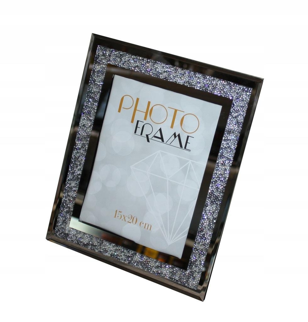 Ramka Diamentowa Na Zdjecia Glamour 15x20 Prezent 7708905636
