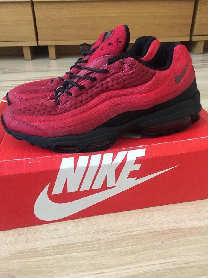 NIKE * AIR MAX 95 Ultra Czerwone US10 roz.44 7552452857