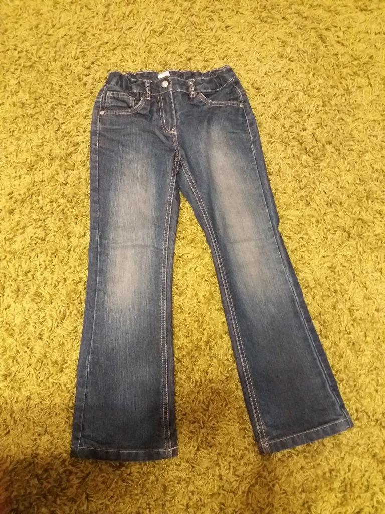 Spodnie dziewczęce jeansy ocieplane PALOMINO  128