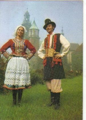 Krakowiak-kostium Z Mapy Stroj Krakowski-Krakowianka