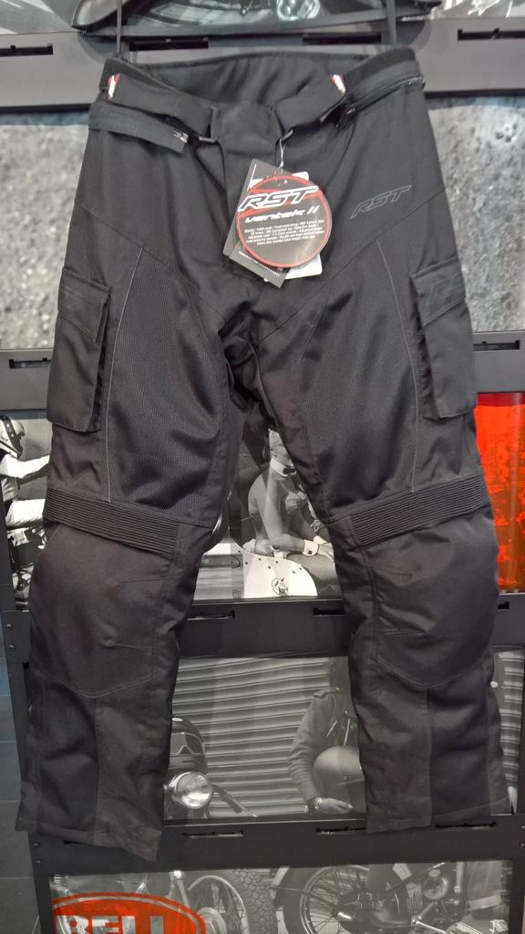 Spodnie tekstylne RST Ventek II Black roz. S