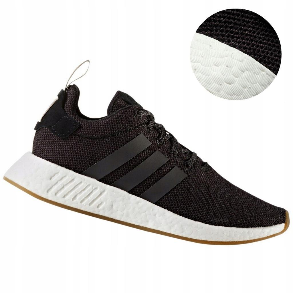 Adidas NMD Buty Męskie Boost Czarne *44,3 Sportowe