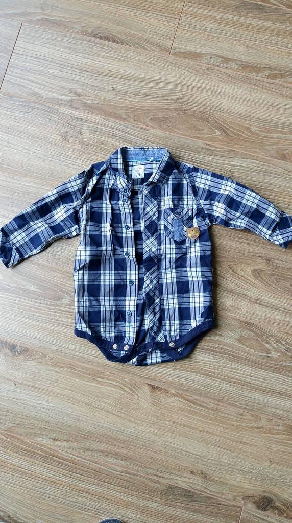 Body niemowlęce koszula rozm. 74 7253445876 oficjalne  MxNs1