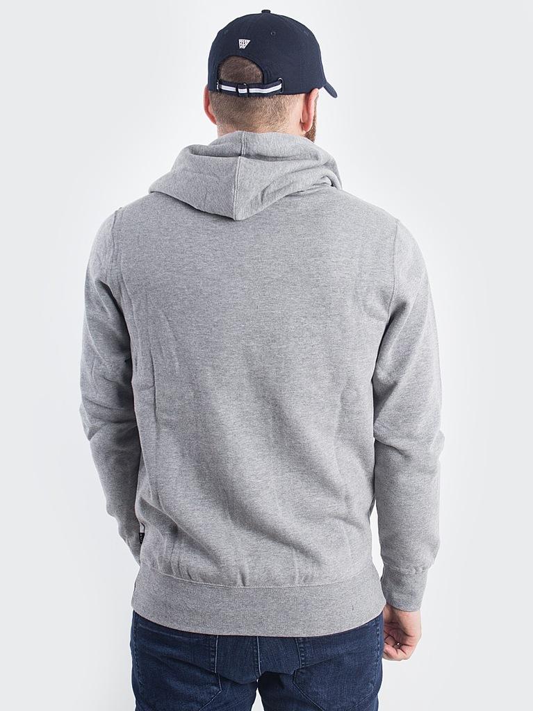 Modna Bluza Huf Original Logo Grey rozm L