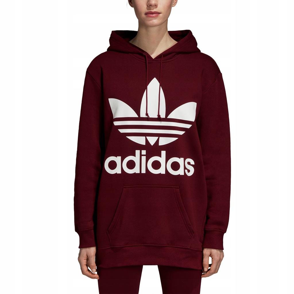 Bluza z kapturem Oversize Trefoil Adidas