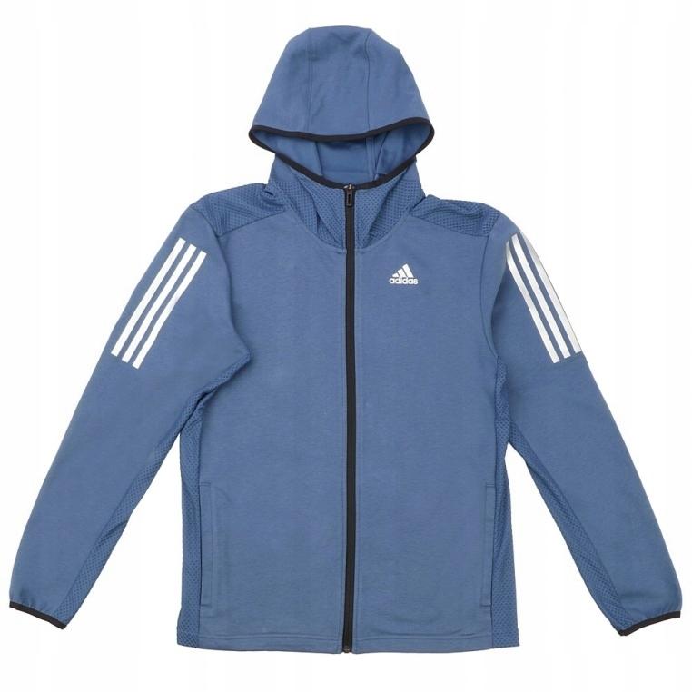 ADIDAS Niebieska bluza S 164