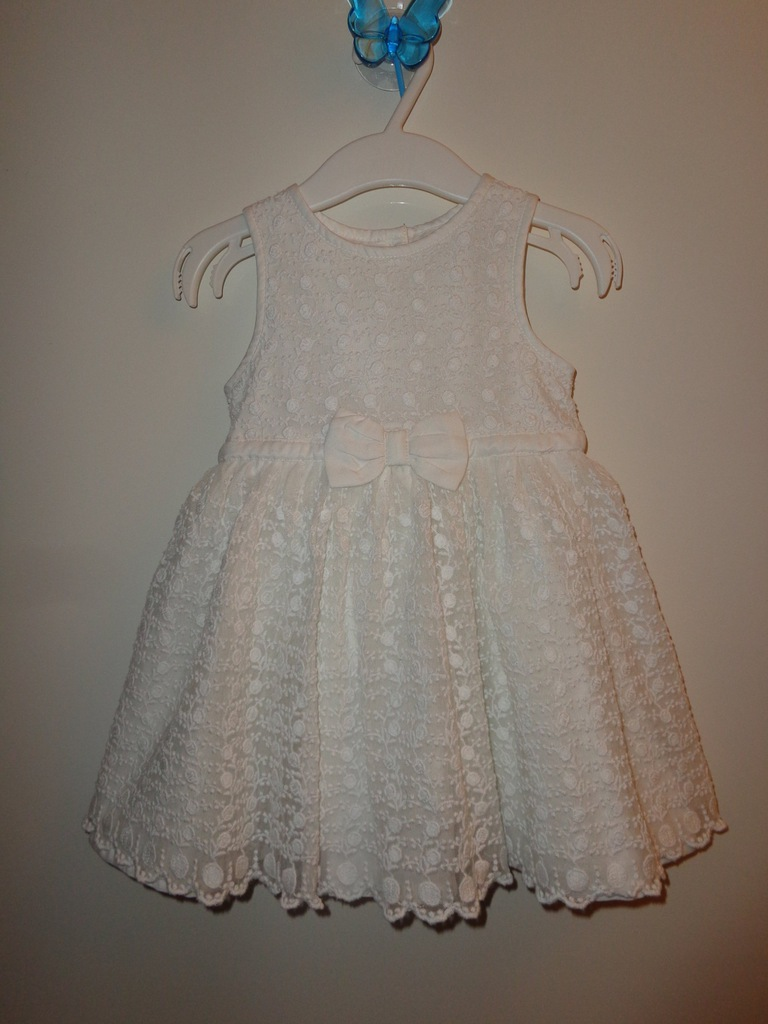 Sukienka wizytowa ecru 74