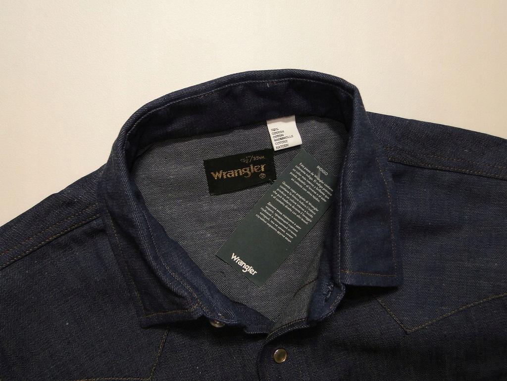 Koszula WRANGLER Jeans Made in USA Denim Indigo 7754099138