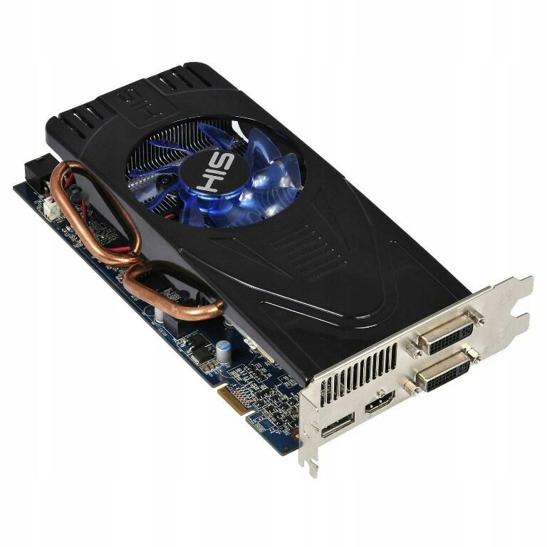 Radeon Hd 5770 His 1gb Ddr5 7724570313 Oficjalne Archiwum Allegro