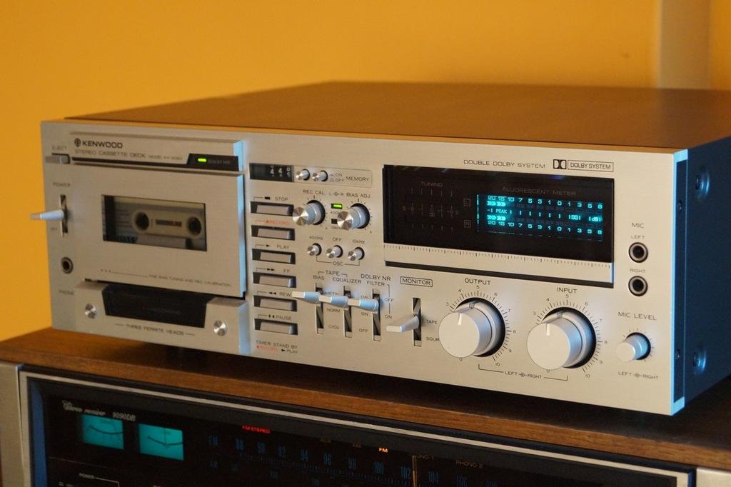 Magnetofon kasetowy Kenwood kx-2060 Uszkodzony